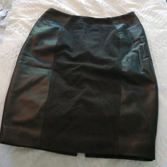 Michael Kors Dresses & Skirts - Slim-fitting below knee charcoal gray skirt